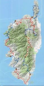 Parcours Corse 2016